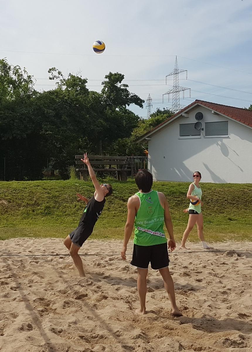 Beachvolleyball Frankfurt